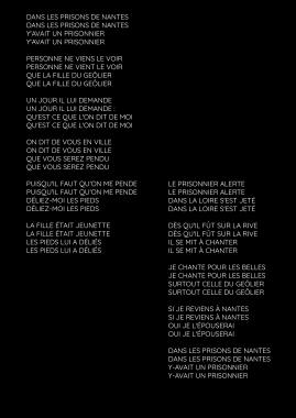 Les prisons de Nante / Tri Yann