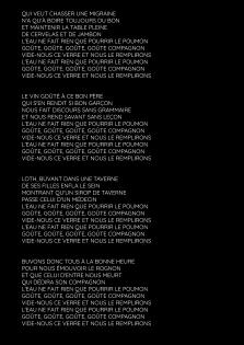 Chanson à boire / Tri Yann