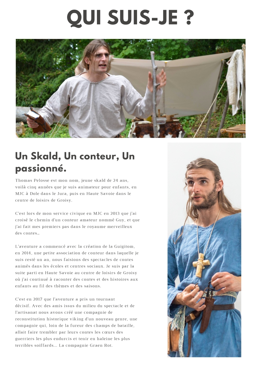Page site contes de thorfinn